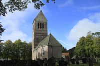 Wijkcel met de stoere kerktoren..jpg