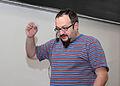 Wikiconference 2013 Prague, Josef Šlerka.jpg