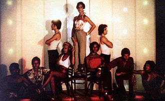 Wild Side Story - The first Wild Side Story cast at Ambassador III 1973