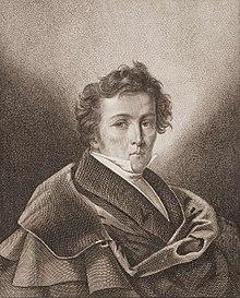 Wilhelm Müller, Stich von Johann Friedrich Schröter (Quelle: Wikimedia)
