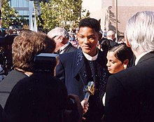 A photograph of Will Smith attending the 45th Primetime Emmy Awards