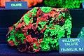 Willemite calcite in ultraviolet light.jpg
