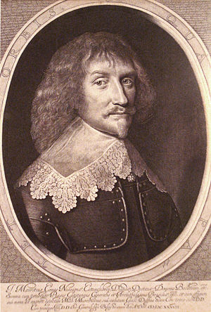 Willem Jacobsz Delff - Willem Delff's engraving of Michiel van Mierevelt's painting of Maurice of Nassau
