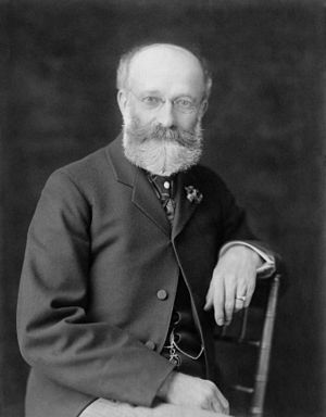 William H. Crook - c. 1900 photograph by Frances Benjamin Johnston.