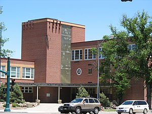 General William J. Palmer High School - Image: William J Palmer High School Colorado Springs