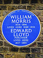 William Morris 1834-1896 lived here 1848-1856. Edward Lloyd Publisher lived here 1857-1885.jpg