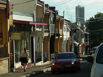 Paddington, New South Wales - William Street 2014