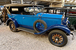 Torpedo (car) - 1930 Willys-Knight 70A Torpedo