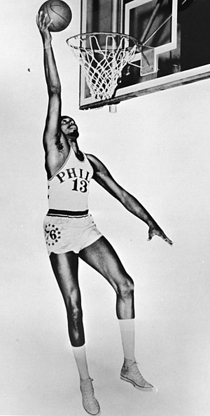 NBA Rookie of the Year Award - Wilt Chamberlain won the award in the 1959–60 NBA season.