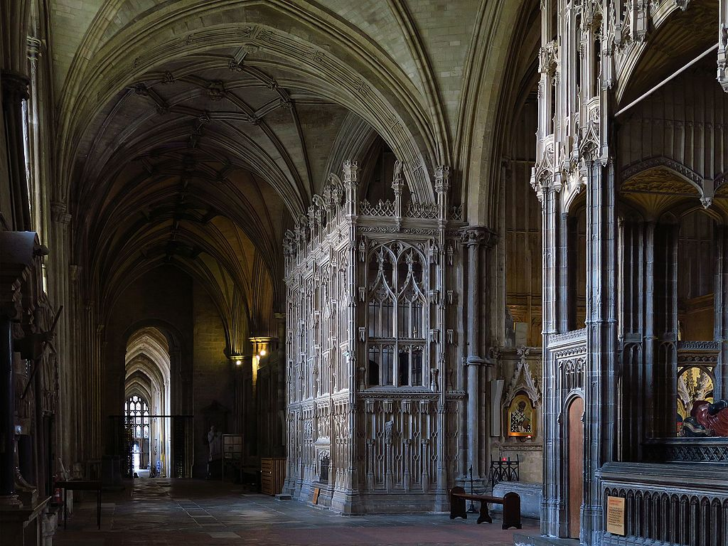 Winchester cathedral on