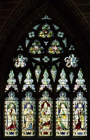 Heaton, Butler and Bayne - The east window of Chester Cathedral