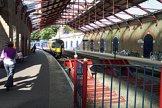Windsor & Eton Riverside railway station - Image: Windsor and Eton Riverside railway station 1
