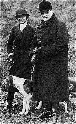 Winston Churchill and Coco Chanel