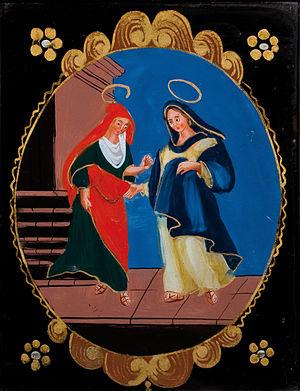 Magnificat (Bruckner) - Mary visiting Elizabeth,  Rötenbach