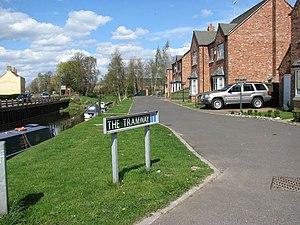 Wisbech and Upwell Tramway - Street name The Tramway