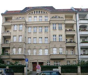 Inge Meysel - Home in Berlin-Schöneberg until 1999