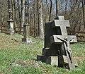 Wołowiec, cerkiew Opieki Matki Bożej, przycerkiewny cmentarz (HB17).jpg
