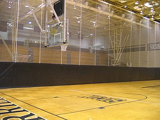 Wofford Terriers - Image: Wofford Johnson Arena 2
