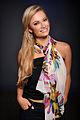 Woman wearing Colorful Fashion Scarf 2014.jpg