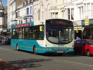 Wright Pulsar - A Wright Pulsar in the Arriva Buses Wales fleet