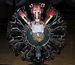 Wright R-1820 aero engine, National Museum of the US Air Force, Dayton, Ohio, USA. (44121009354).jpg