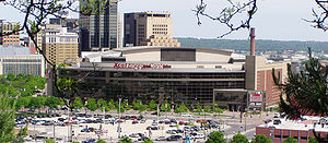 Das Xcel Energy Center in Saint Paul