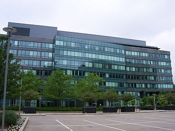 English: Xerox headquarters in Norwalk, Connec...