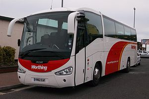 Irizar - Irizar Century (on Scania K340EB) for Worthing Coaches in the UK