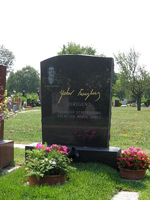 Yakov Kreizberg - Grave of Yakov Kreizberg in Section 40 (reserved for honorary Austrians) in the Zentralfriedhof in Vienna