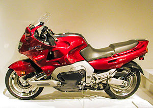 Yamaha Motorcycle With Radd Front Suspension