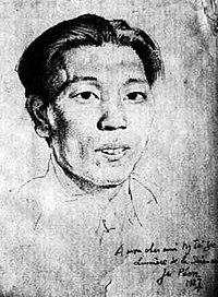 Yan Jici sketch by Xu Beihong.jpg