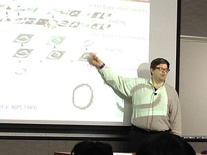 Yann LeCun - Image: Yann Le Cun at the University of Minnesota