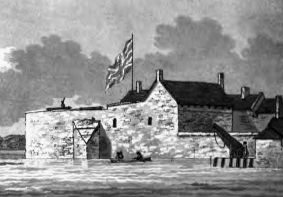 Yarmouth Castle 1797 - trimmed