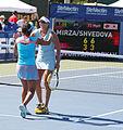 Yaroslava Shvedova and Sania Mirza (5995830789).jpg