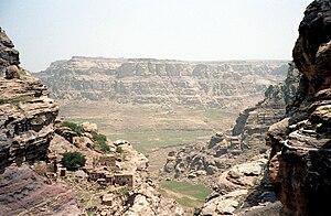 Geography of Yemen - Near Kawkaban