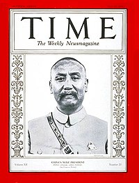 Couverture du magazine time du 19 mai 1930.