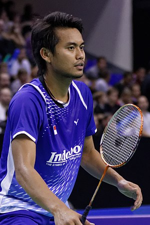 Tontowi Ahmad - Tontowi Ahmad at the 2013 French Open Superseries