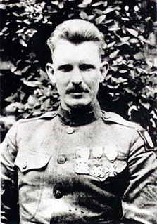 Alvin York United States Army Medal of Honor recipient