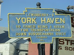 باضابطہ لوگو York Haven, Pennsylvania