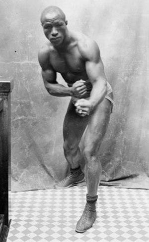 Young Peter Jackson (boxer born 1877) - Image: Young Peter Jackson portrait