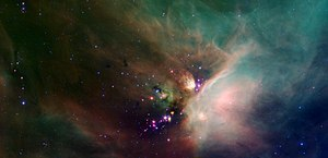 Rho Ophiuchi cloud complex - Image: Young Stars in the Rho Ophiuchi Cloud