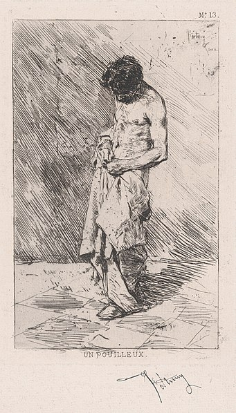 File:Young man standing dressed in rags MET DP876108.jpg