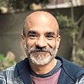 Youssef Rakha at the Swiss Club, Cairo, 6 January 2021.jpg