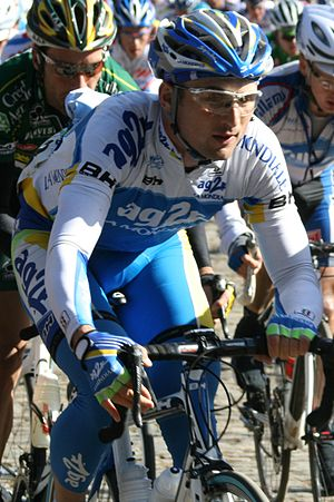 Yuriy Krivtsov - Krivtsov at the 2009 Driedaagse van West-Vlaanderen.