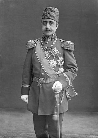 Şehzade Yusuf Izzeddin - Portrait of Crown Prince Yusuf İzzettin, Windsor, 1911