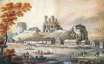 Z. Vogel. Castle of Ostroh.jpg