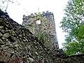 Zamek Lipa Górna - Wieża 2- Dolnośląskie, powiat jaworski HWPS.JPG