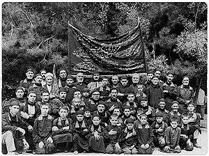 Hussainiya - A history image from Zanjan azam Hussainiya in Iran