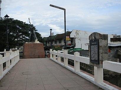Paano pumunta sa Zapote Bridge gamit ang pampublikong transportasyon - Tungkol sa lugar
