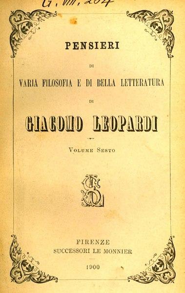 File:Zibaldone di pensieri VI.djvu